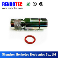 RF Connector N Type Plug For 1/2 SF Cable