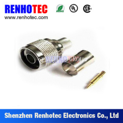 RF Connector N Type Male Crimp For LMR 240 Cable