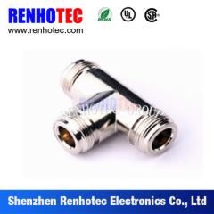 N T Type Three Female In One Row RF Connector