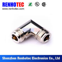 Right Angle N Female To Female Adaptor RF Connector