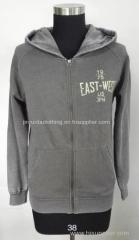 Men's hoodie zip sweater