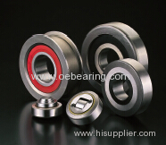 Combined Bearing adjustable by screw for steel sections