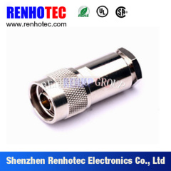RF N Type Plug Straight For 1/2 Cable Connector