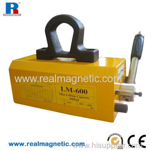 handle permanent lifting magnet