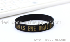 custom debossed wristband cheap silicone bracelet