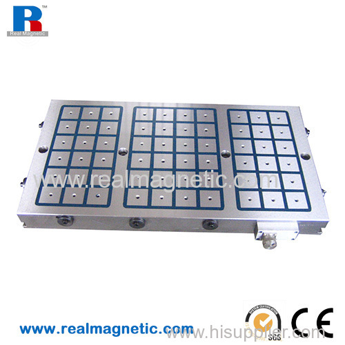 400*800 electro permanent magnetic workholding