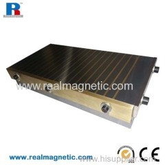 150*350 rectangle powerful permanent magnetic chuck