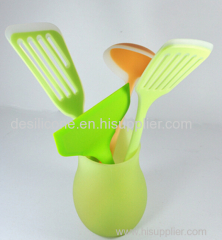 new arrival best quality custom logo Food grade FDA/LFGB silicone kitchen utensil set/kitchen tool /kitchenware