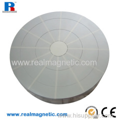 Dimension 200 mm round powerful permanent magnetic chuck