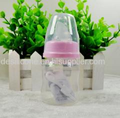 BPA Free Silicone baby feeding bottle