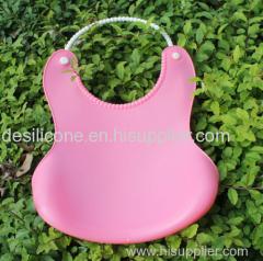 Food Grade Comfortable & Soft Waterproof Fancy Silicone Baby Bib