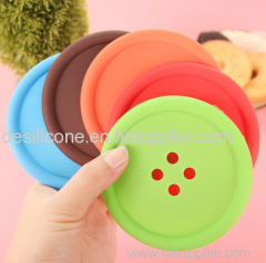 Colorful honeycomb shaped silicone rubber hot pad