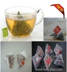 Nylon Pyramid Tea Bag Packing Machine