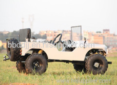 Hot sale 4 stroke mini car willys/mini rover with absorber and CE certification for adults