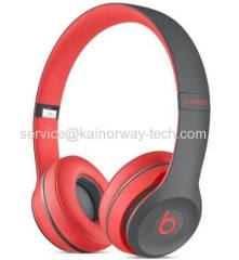 Beats Solo2 Active Collection High-Definition Bluetooth Wireless Headphones Red