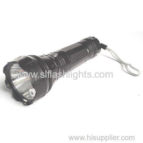 Plastic Laser Rechargeable Flashlight lamp with LED