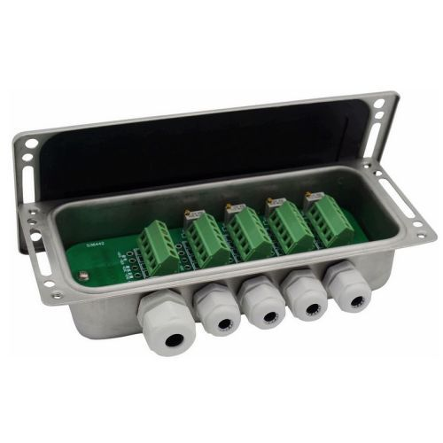 Stainless steel Junction box for load cell signal trimming