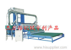 Automatic cotton/wool/polyester batting machine