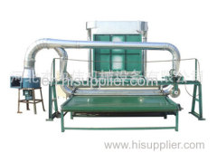 carding machine with cutter
