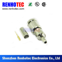 75ohm Straight 1.0/2.3 CC4 Male Plug Crimp for 5C-2V Cable