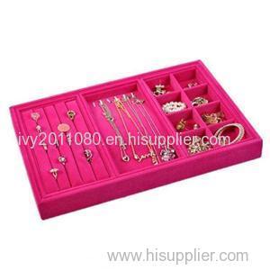 Jewelry Display Flocking Tray