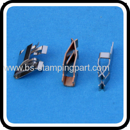 copper stamped welding spring clips