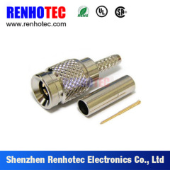 75Ohm Crimp Type DIN 1.0/2.3 SAA Male RF Coax Connector