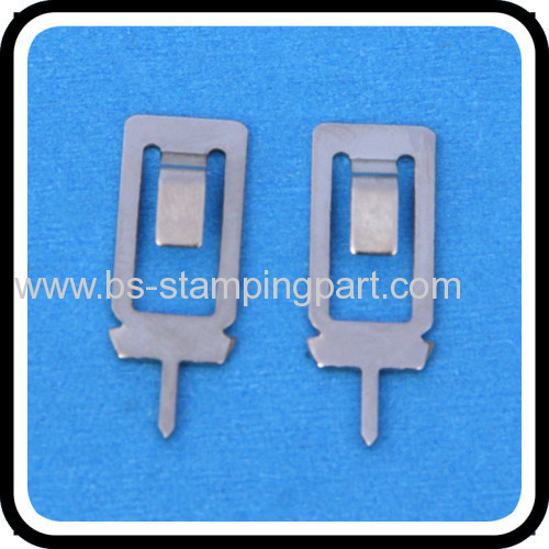 battery leaf spring contact conncetor