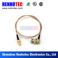 BNC Male Plug to 1.0/2.3 Female Jack Connector for Cable