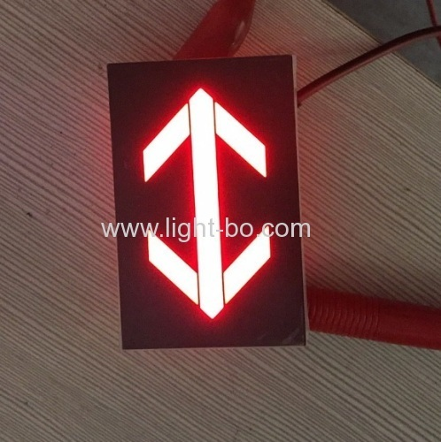Ultra Red 2.0-inch Arrow LED Display for Elevator Direction Indicator