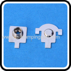 metal spring solder battery contact