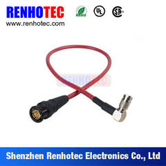 Right Angle 1.0/2.3 Male Plug Straight BNC Male Plug to Connector
