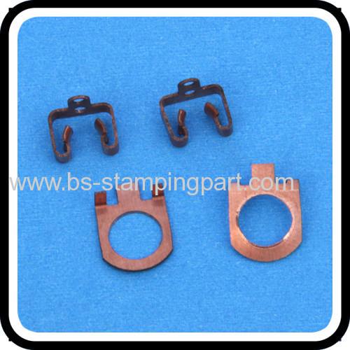 beryllium copper spring terminal fabrication