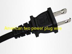 AC power cord with UL american