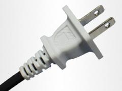 Two power plug cord of American