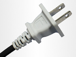 UL 125V American Polarize Electric Power Cord With 2 Pin Plug