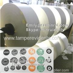 Silkscreen Printing Eggshell Sticker Paper Material Sheets or Rolls