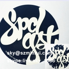 eggshell graffiti sticker/graffiti sticker/destructible vinyl eggshell sticker