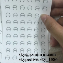 security warranty label/strong adhesive paper sticker/tamper seal sticker
