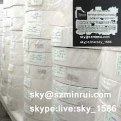 anti-counterfeit paper/security sticker paper/white destructible vinyl material