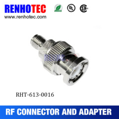 Electrical TNC Female Jack To BNC Male Plug Connector