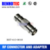 RF Connector Double BNC Female Jack Adapter