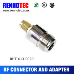 RF Connector SMA Male To N Female Adapter
