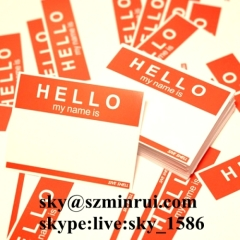 breakable graffiti name eggshell stickers/graffiti my name eggshell stickers/hello my name is egg shell sticker
