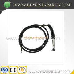 Caterpiller excavator throttle cable E320 throttle single cable high quality