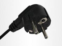 High-density European power plug cord supplier