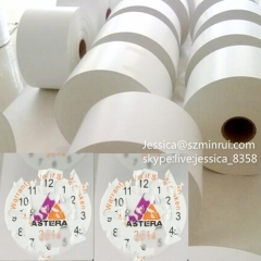 Hot Selling Wholesale Eggshell Destructive Security Label Non-removable Self Adhesive Breakable Vinyl Paper Rolls