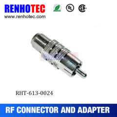 RF Connector BNC Jack To RCA Adapter