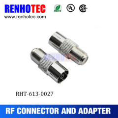 RF Coaxial Connector F Type Female To Pal Female Adapter