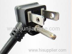 America 125v Standrad 3pin power plug cord